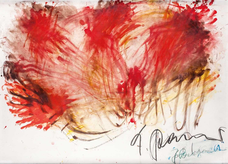 Rainer Fingermalerei Gelb/Rot