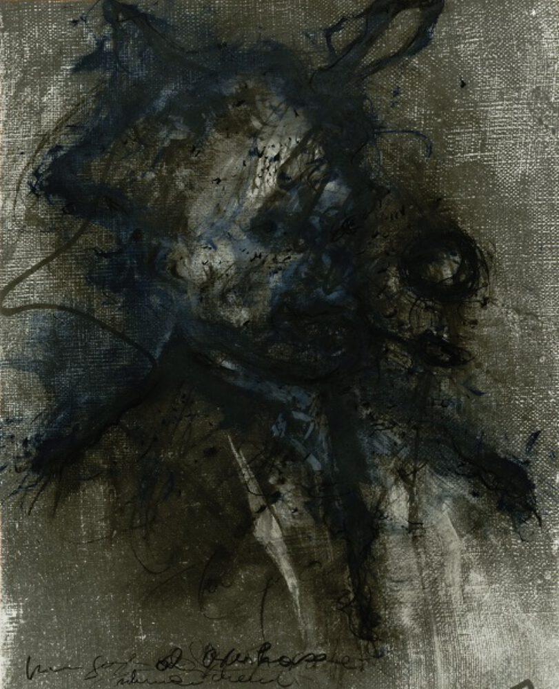Rainer Van Gogh Als Osterhase Kl