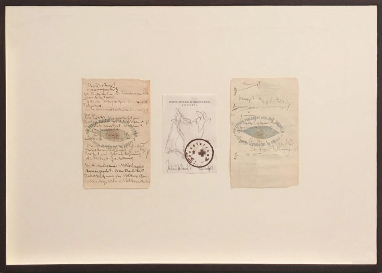 """Joseph Beuys, """"Manifest"""" (Europa-Parlament-wählt die Grünen)"""