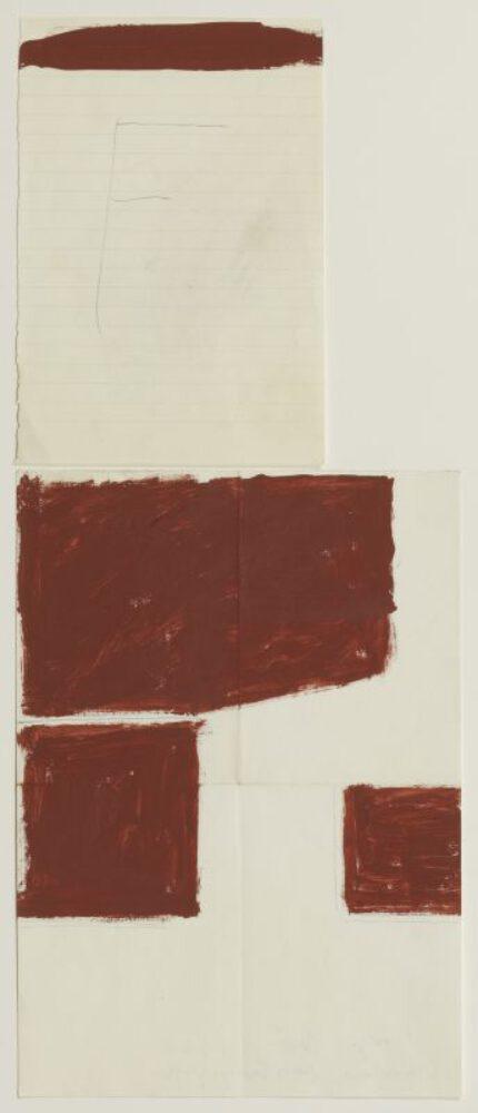 """Joseph Beuys, """"Das F - Anordnung dreier Energiegrössen"""""""